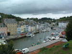 . . . und dem gut belegten Bootshafen. Tschüss Belle-île-en-Mer !