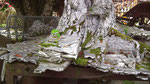 Nicht Eisen oder Stahl, sondern Skulptur aus Blei und Zinn