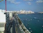 Sliema gilt als das touristische Zentrum mit einer langen Uferpromenade