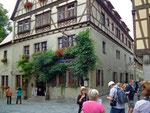 Das Hotel Reichsküchenmeister mitten in der wunderschönen Stadt