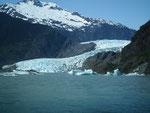 Nochmals ein schöner Blick zur Gletscherzunge
