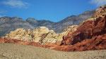 oder dann wieder ganz hellfarbige Felsen