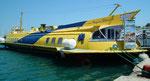 Alte russische Tragflügelboote dienen als Passagierfähren nach der Türkei