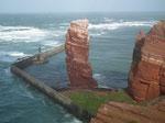 Das Wahrzeichen von Helgoland «Die lange Anna» trotzt Wind und Wetter