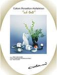 """1983 Porzellan-Serie """"ovo"""" für die grosse japanische Porzellan-Manufaktur . . ."""