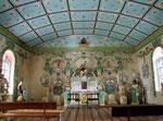 Die Wallfahrtskirche von St. Anne, die innen . . .
