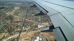 Letzter Blick auf Las Vegas und Rückflug via New York nach Zürich