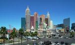 Das Hotel New York-New York in Las Vegas