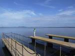 Kein See, sondern das Meer bei Porto Ercole am Monte Argentario