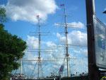 Auch das ist Hamburg. Am wunderschönen Hafen