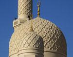 Sogar die Kuppeln weisen wunderschöne filigrane Betonarbeiten auf