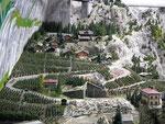 Ein Stück Schweiz mit Weinbergen in Hanglage (Wallis)