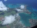 Nach weiteren rund 6¼ Flug erreichen wir Mauritius, eines der Paradiese im indischen Ozean.