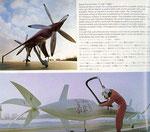 1968 1:1-Entwurf des C300 Rekord-Flugzeugs mit gegenläufigen Turboschaufeln
