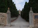 Aufgang zur Ermita da Betlem . . .