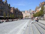 Der Dorfplatz von Leuven