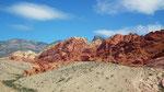 Fahrt zu den intensivfarbigen Red-Rocks