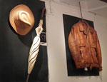 . . . des Holzschnitzers Loris Marazzi, der fantastische Alltagsartikel . . .