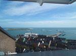 Blick aus «unserem» Dachfenster auf das sogenannte Unterland