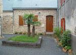 Palmen in der wilden Bretagne eine Seltenheit