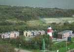 Blick auf ein kleines, idyllisches Ferien-Quartier im Unterland