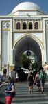 Spitztorbogen an einer Moschee