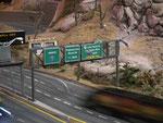 Schön dargestellter Highway-Abschnitt
