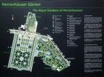 Die Herrenhäuser Gärten wurden ab etwa 1665 angelegt