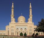 Eine wunderschöne Moschee, die aber «leider» für Nicht-Moslems nicht zugänglich ist.