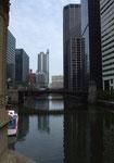 Downtown Chicago, eine der faszinierendsten Städte der USA . . .