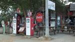 Eine wunderschöne nostalgische Tankstelle...