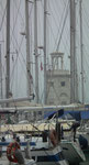 Der kleine Leuchtturm an der äussersten Spitze der Insel Giudecca