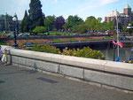 Schöner Welcome-Gruss am Hafenpark