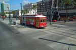 Die alte Strassenbahn zieht immer noch ihre Runden in der Stadt und den Aussenquartieren