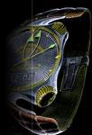 1982 Entwurf für Herren-Uhr