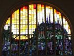 Auch das Glasfenster im Hauptbahnhof von Luxemburg ist fantastisch !