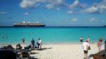 Auf der Private Island «Half Moon Cay» auf Bahamas