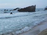 Der etwas wildere (windigere) Strand von Son Moll