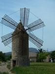 Nur noch vereinzelt anzutreffen: Windmühlen zum Getreidemahlen oder Wasserschöpfen