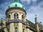 Bankgebäude zählen auch in Hannover zu den Prunkbauten