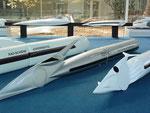 Auch auf den Schienen lässt sich mit perfekter Aerodynamik . . .