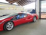 oder Ferrari testa d'oro, der schnellste Serien-PW mit optimierter Carrosserie