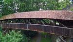 Holzbrücke über den Wallgraben beim Spitaltor