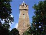 Der imposante Victoria Tower (benannt nach Queen Victoria)