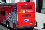 Hopp-on/Hop-off Busse für ausgedehntes und informatives Sightseeing
