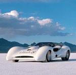 . . . auf dem Salzsee in Bonneville, Utah USA