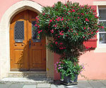 Hübscher Eingang