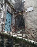 Durch schmale Gassen und Treppen geht's aufwärts in Perugia