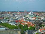 Ausblick auf die Stadt Hannover