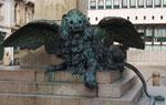 Zum Abschluss: Der wunderschöne geflügelte Löwe von Venedig